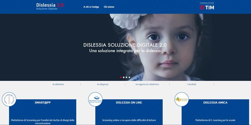 Dislessia 2.0, la prima piattaforma per lo screening digitale