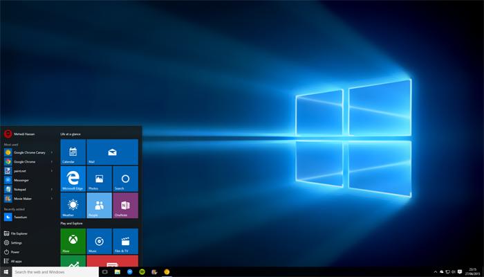 Ecco un assaggio di come cambierà l'interfaccia di Windows 10