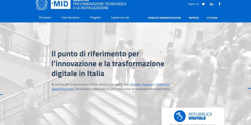 Innovazione.gov.it. Il sito del ministero. E Pisano cerca oltre 100 talenti (Le posizioni aperte)